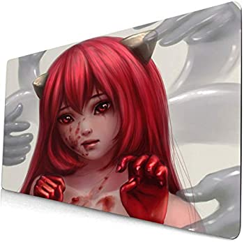 Elfen Lied Mouse pad Anime Mouse pad Extension Gaming Keyboard pad Desk pad Computer pad Game pad 5  90cm×40cm