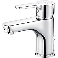 GRIFEMA Porto -  Mezclador monomando lavado con función de ahorro de agua, Grifo de baño, Cromo
