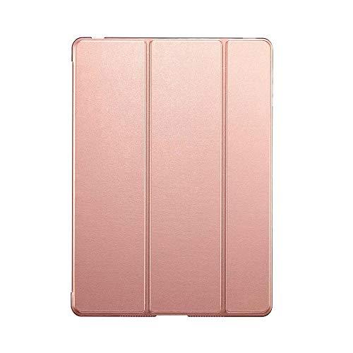 YYLKKB For iPad 10.2 inch 2020 For ipad 8th Gen 10.2 A2428 A2429 PC Back PU Leather Smart Cover Auto SleepAuto Sleep-Rgold-10.2 2020 8th