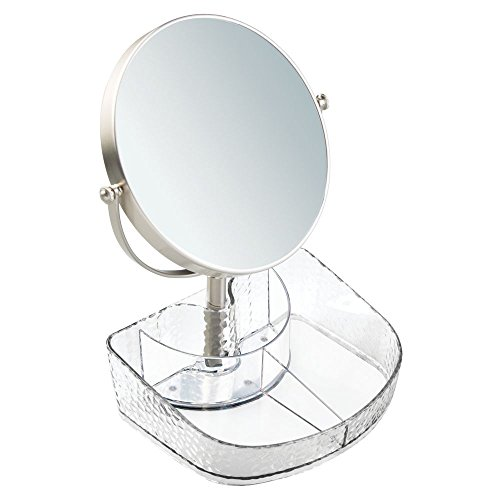 Price comparison product image iDesign Rain Vanity Organizer with Mirror