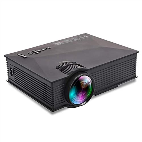 ZHAOHGJ Worth Having - Nueva actualización UC68 Multimedia Home Theatre PROYECTOR LED 1080 LUDE LED con HD 1080P Mejor Que