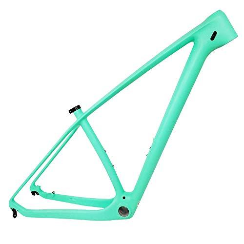 HAILI Cuadro de Bicicleta de Empuje de Carbono MTB 29Er Bicicleta de montaña 29 Piezas de Bicicleta Cuadro de Carbono 142 * 12 o 135 * 9 mm Cuadro de Bicicleta,C