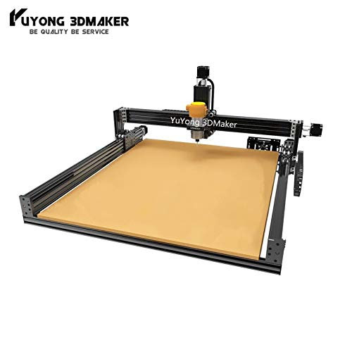 Check Out This 1515 Lead CNC Full Kit Lead CNC Router Machine Full kit Carving Engraving Machine 1500mmx1500mm (Sliver-2.2KW Water,GRBL)