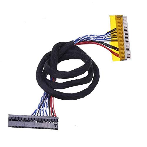 BRIGHTZ Auto-installing Combination 30P 1CH 8-bit Screen Line V320B1-L01 Chip Plug Length 40CM Cable For universal V59 LCD Driver Board