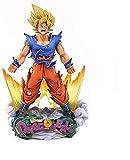 XFHJDM-WJ Regalo cumpleaños Dragon Ball Z: Super Saiyan/Son Goku - Figura de PVC de 9 Pulgadas JH389OC2
