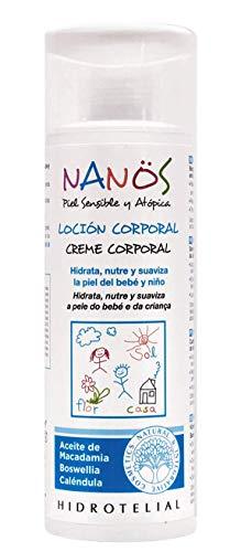 NANOS, loción corporal 200ml, piel sensible y atopica