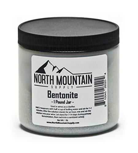 North Mountain Supply - BT-4oz Food Grade Bentonite Clay (4 Ounces)