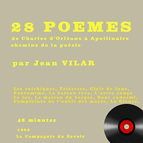 28 poèmes de Charles d'Orléans à Apollinaire audiobook cover art