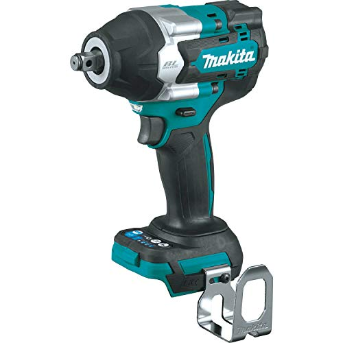 """Makita XWT17Z 18V LXT Lithium-Ion Brushless Cordless 4-Speed Mid-Torque 1/2"""" Sq. Drive Impact Wrench w/ Friction Ring Anvil, Tool Only"""