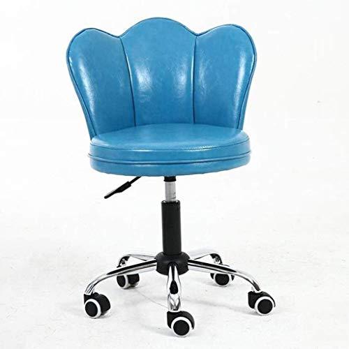 N/Z Living Equipment Funda para Silla de Oficina para computadora Funda para Silla Universal de Color sólido Funda para Silla giratoria elástica (Color: Azul)