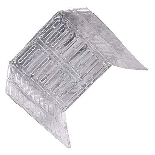 lmoikesz 3 Lados de Aceite de Salpicaduras de Salpicaduras de Aluminio Estufa de Aluminio Splatter Splatter SNS Herramienta de Cocina Protectora de Aislamiento
