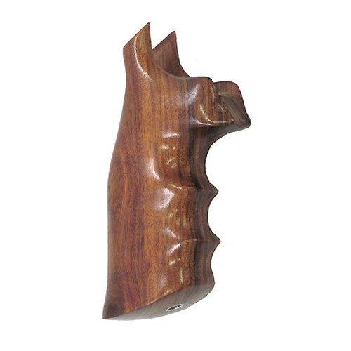 Hogue 29300 Wood Grips PAU Ferro, Smith & Wesson N Frame Square Butt
