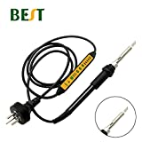 Soldering BES-102C Adjustable Temperature Portable Constant Temperature Electricity Soldering Lron 60W SMD Repair Welding Rework Tool - (Color: Red)