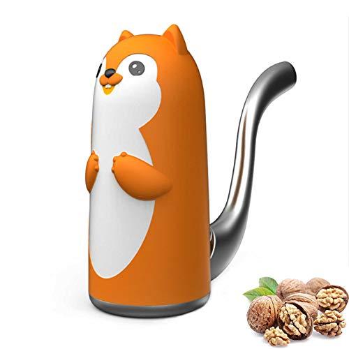 Nussknacker Eichhörnchen Walnüsse Nussknacker, Metall Nut Cracker Mit Wenig Kraft Ideal Für Kinder Und Senioren Zum Nüsse Knacken