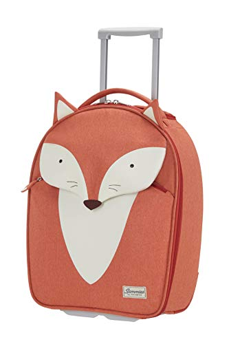 Samsonite Happy Sammies Upright Valigia per Bambini, 45 cm, 24 L, Arancione (Fox William)