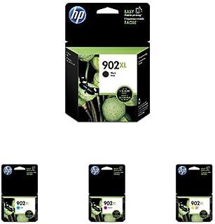 HP 902XL | Ink Cartridge Bundle | Black, Cyan, Yellow, Magenta | T6M14AN, T6M02AN, T6M06AN, T6M10AN