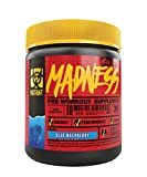 Mutant Madness - Redefines the Pre-Workout Experience and Takes it to a Whole New Extreme Level, Engineered Exclusively for High Intensity Workouts, 225g – Blue Raspberry