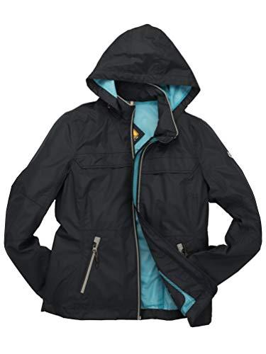 ROADSIGN Australia - Damen Outdoor Jacke mit Kapuze (9309S-3078), Größe:40, Farbe:Marine (43)