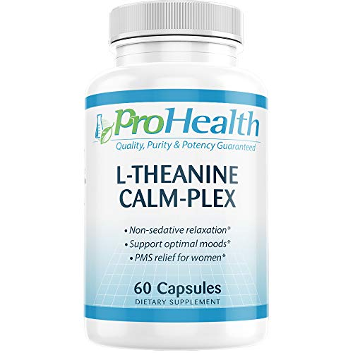 L-Theanine Calm-Plex with GABA and 5-HTP (Suntheanine) (100 mg, 60...