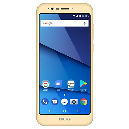 Blu Smartphone Studio View XL 16GB Dorado Desbloqueado Reacondicionado