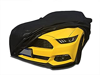 Xtrashield CarsCover Custom Fit 2015-2018 Ford Mustang Car Cover Black Covers