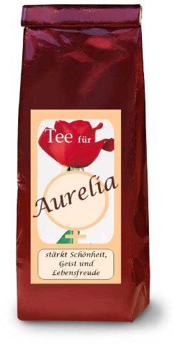 Aurelia; Namenstee; Früchtetee