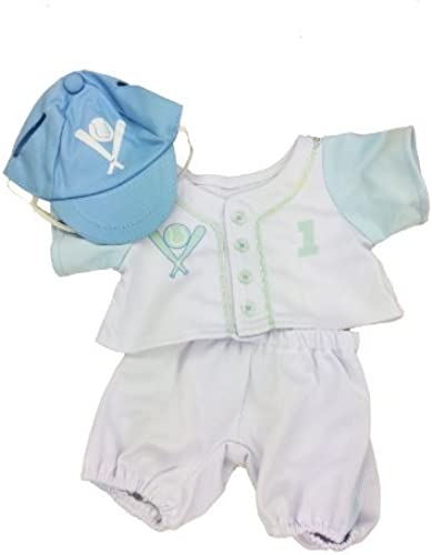 popular azul Baseball Outfit Outfit Outfit Fits Most 14 - 18 Build-a-bear, Vermont Teddy Bears, and Make Your Own Stuffed Animals by Stuffems Toy Shop  online al mejor precio