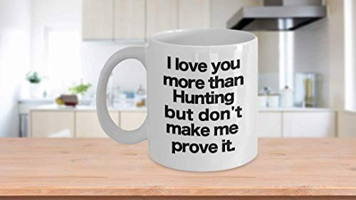 11 oz Coffee Mug, Tea Cup, Hunting Mug - White Coffee Cup - Funny Gift for Dad, Grandpa, Uncle, Duck, Deer,