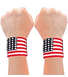 Resistance Wonderful Woman Flag Bracers