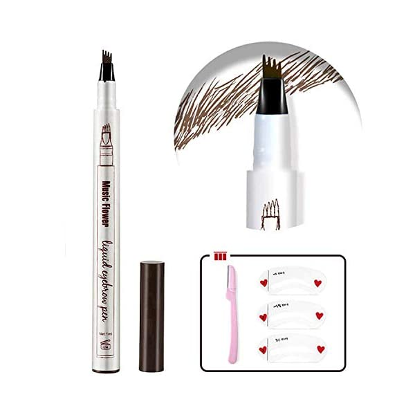 Beauty Shopping Eyebrow Tattoo Pen,Tat Brow Microblading Eyebrow Pencil Waterproof Microblade Brow