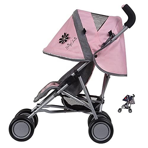 Daisy Chain Poussette pour poupées Little Zipp - Recommandé pour Les Enfants de 18 Mois à 3 Ans (Classic Pink)