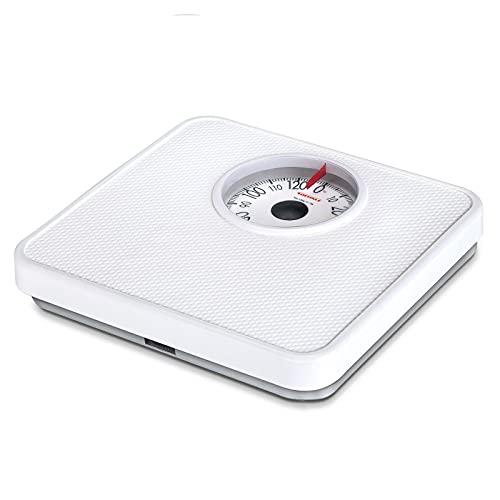 Soehnle 61098 Tempo - Báscula de baño analógica, color Blanco
