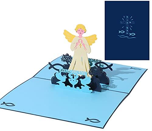 BOUTIKS® [ 3D Pop UP Karte ][ Kommunionkarten ][ Konfirmationskarten ][ Dankeskarten ][ Einladungskarten Kommunion ][ Einladungskarten Konfirmation ]