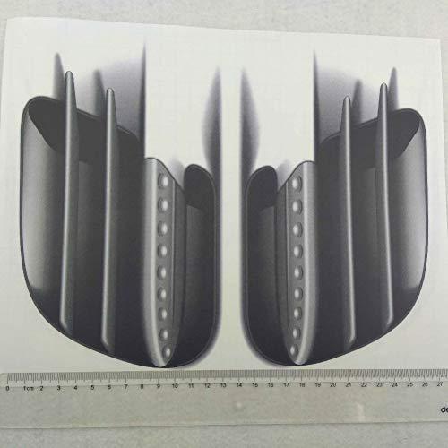 Etiqueta engomada del coche 3D del coche del coche 3D falso salida de ventilación lateral etiqueta decorativa símbolo coche coche calcomanía