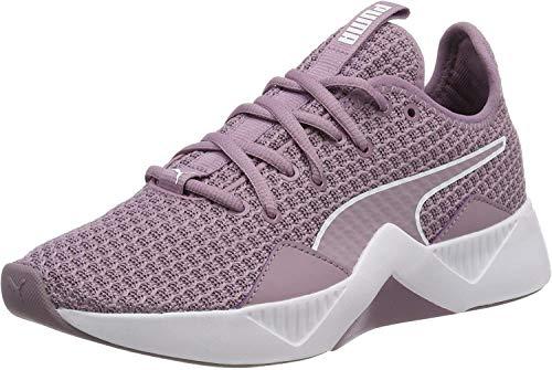 Puma Damen Incite Fs Wns Fitnessschuhe, Violett (Elderberry-Puma White), 38.5 EU