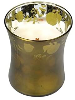 Apple Basket Medium Dancing Glass Woodwick Candle