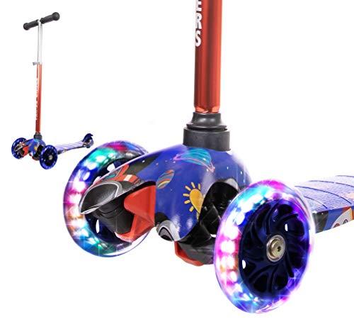 tretroller HUDORA SCOOTER giocattoli per bambini Sport Outdoor Verde Nero B-Ware