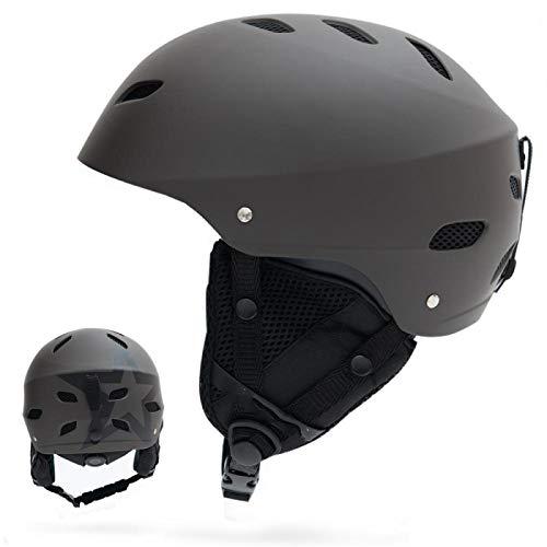 Helmet Bike Adult Helmet Man Women Snowboard Snowmobile Ski Adult Windproof Skateboard Snow Sports Cycling Helmets Suit Goggles M(54-57CM) Color4