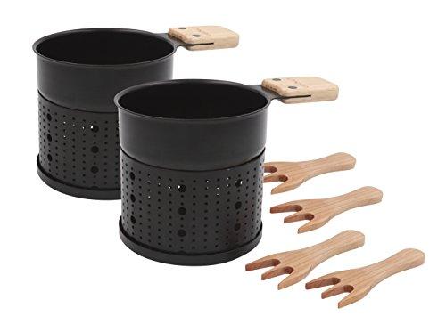 COOKUT LUMI Choco-Schokoladenfondue-Set für 4 Personen, Nicht zutreffend