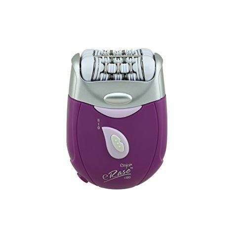 Emjoi eRase 60-Disc Precision Hair Removal Epilator (Purple)