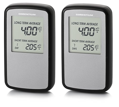 Buy Discount Airthings 226 Digital Electronic Radon Gas Monitor (Pack of 2)