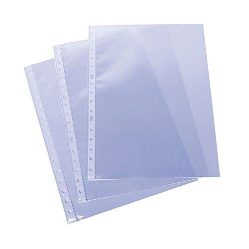 Grafoplas Caja 100 Unidades Funda PP Folio Liso Extra GALGA 16 TALADROS