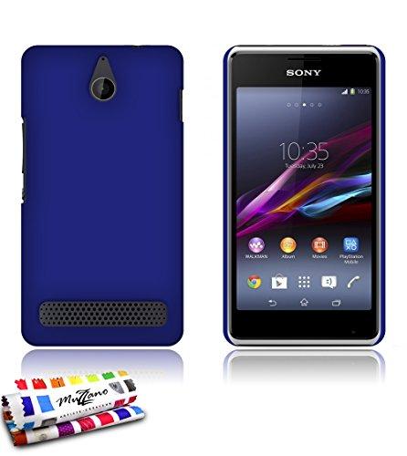 Muzzano Le Pearls - Funda para Sony Xperia E1, color azul