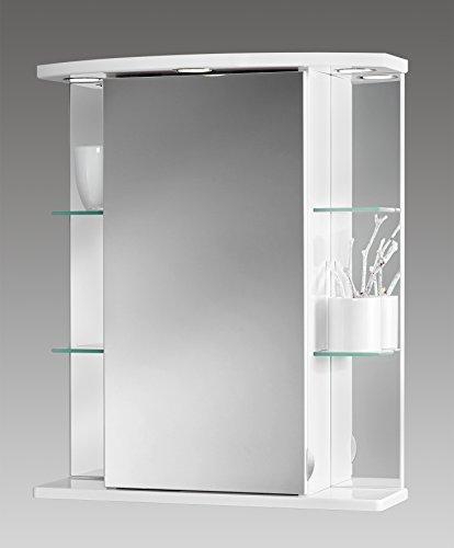Jokey Spiegelschrank Havana LED weiß 55cm