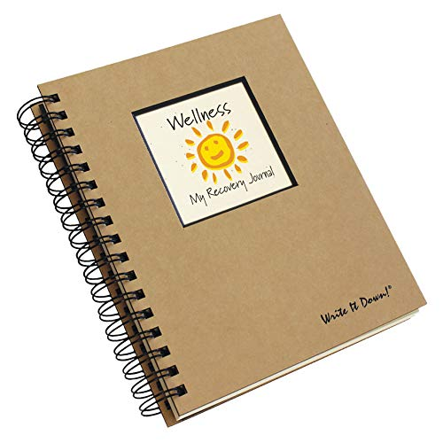 Road to Wellness, My Recovery Journal - Kraft Hard Cover