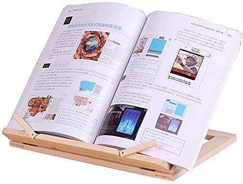 Decorazione Booking Wood Bookend, Non-skid, Bracket Book Reading Bookend Tablet PC, stand book per ufficio, confezione di 1 paio 31cmx24cm libro tappo (Color : SS008)