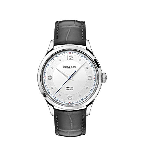 Montblanc Heritage Herren-Armbanduhr 40mm Grau Automatik Analog 119943