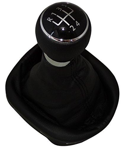 AERZETIX: Pomo, funda y marco para palanca de cambios 5 velocidades de coche, vehículos C4779