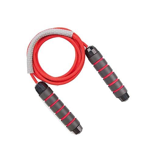 SYXX Nicht Tangled Kugellager-Fast Springseil, Sport Springseil, Fitness Springseil, Unisex Ausrüstung fettreduzierende, Fast Springseil, Ideal for Cardio-Training (Color : Rot)
