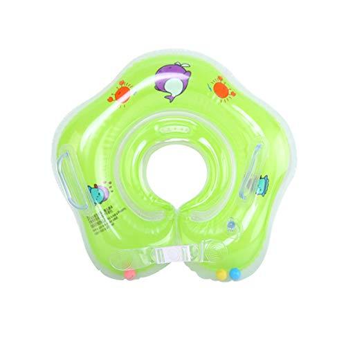 Baby Schwimmring,Baby Schwimmhilfe Baby Float Kinder Schwimmen Halsring Schwimmreifen Kleinkinder Poolzubehör,Aufblasbarer Baby Infant Neck Float Ring Strand Wasser Bad Badewannenspielzeug (B)